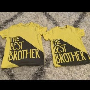 Matching Best Brother Toddler T-shirts